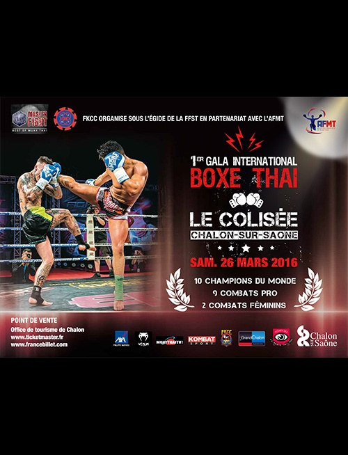 Gala Boxe Thaï 2016